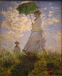 Woman with a Parasol (Mme. Monet & her Son)